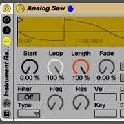 Ableton Live Racks: Creating an Instrument from Simple Waveforms