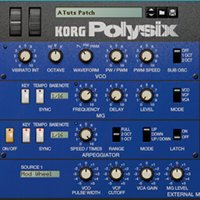 Making Wide Arpeggiator Patches Using The Korg PolySix Rack Extension