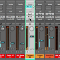 Parallel Drum Processing in Logic Pro 9