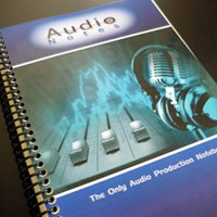 Winner Announced: Win an Audio Engineering Notebook from Audio Issues
