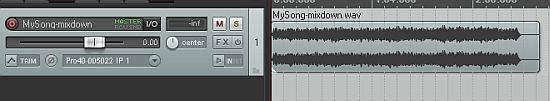 Rendering in Reaper for a High Quality Mixdown