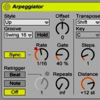 Quick Tip: Use Ableton&#8217;s Arpeggiator to Create a Progressive Trance Lead Sequence